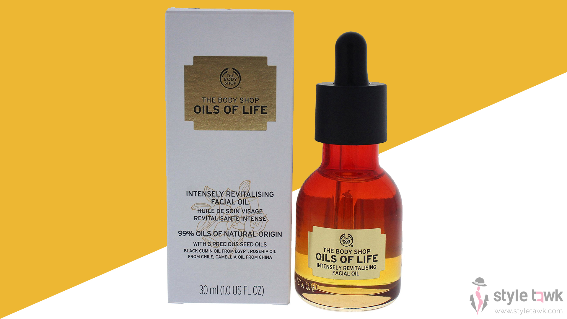The Body Shop Oils Of Life™ Intensely Revitalizing Facial Oil – Review