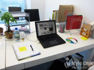 organize your work desk in 3 simple steps styletawk