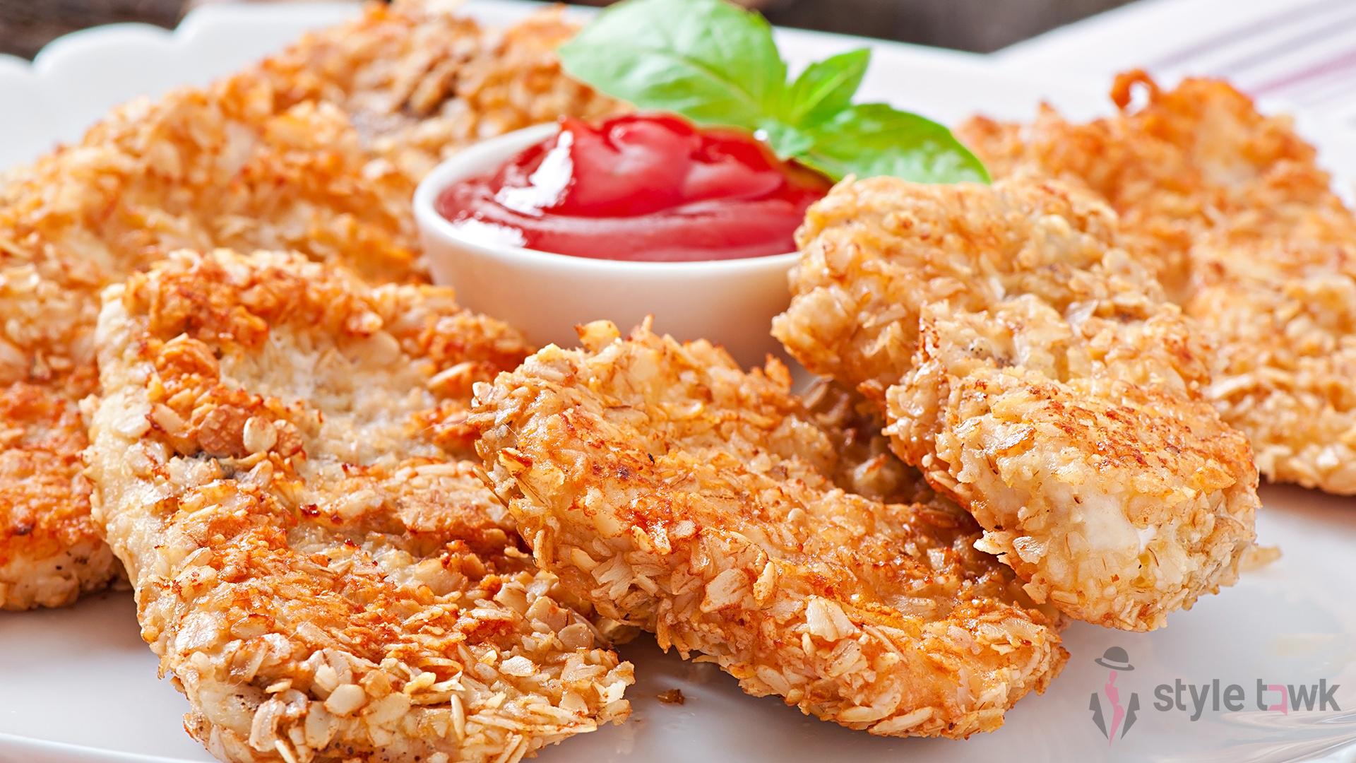 Corn Crusted Chicken